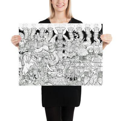 Kislev Print 18 x 24